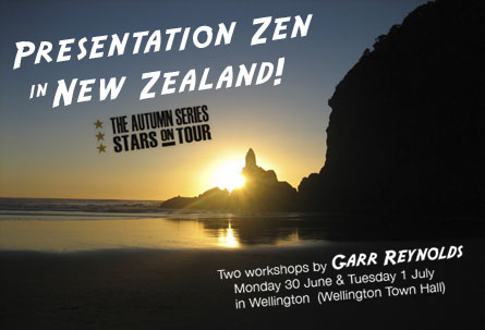 Presenting in Wellington June 30 & July 1